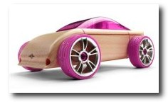 Automoblox C9 Pink Sports Coupe