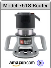 Porter-Cable Speedmatic 3-1/4 HP Fixed Base Router
