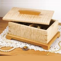 Hidden Compartment Jewelry Box Paper Plans
