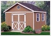 12' x 12' Gable Storage Shed