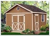16' x 12' Gable Storage Shed