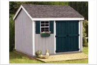 8' x 10' Gable Storage Shed