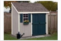 4' x 10' Lean-to Storage Shed