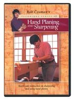 Hand Planing and Sharpening DVD