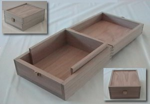 Custom White Oak Enigma-e Box