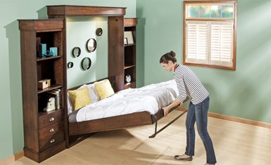 Deluxe Vertical Mount Murphy Bed Kits
