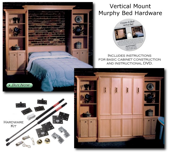 Hardware Kit for Vertical Mount Murphy Bed