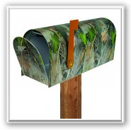 Outdoor Enthusiast Novelty Mailbox