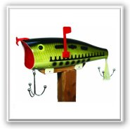 Rivers Edge Baby Bass Novelty Mailbox