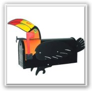 Toucan Novelty Mailbox