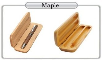 Maple Pen and Pencil Cases