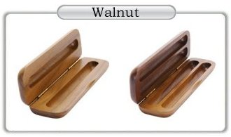 Walnut Pen and Pencil Cases