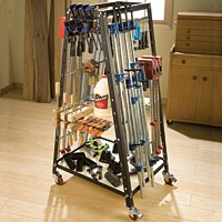 Pack Rack™ Clamp & Tool Storage System