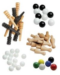 Game Pegs and Marbles