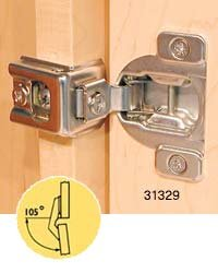 Blum 2-Way Nickel-Plated Face Frame Hinges