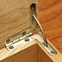 Solid Brass Quadrant Hinges