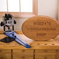 Rockler Ellipse/Circle Router Jig