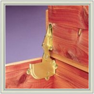 Cedar Chest Hinge and Lid Support