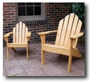 Adirondack Chair Plans and DVD