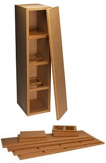 Knock-Down MDF Tower Speaker Cabinet