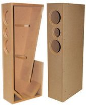 TriTrix MTM TL Knock-Down CNC Speaker Cabinet Pair
