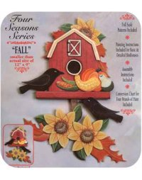 Autumn Barn Tole Project Kit