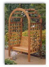 Garden Arbor Woodworking Plan