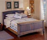 Country Fresh Oak Bed Plans