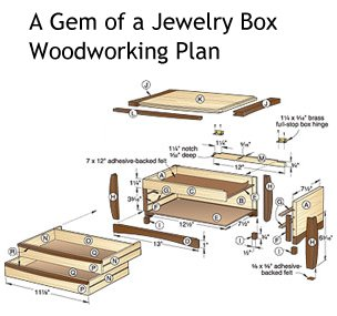 Plans to Build A Gem of a Jewelry Box