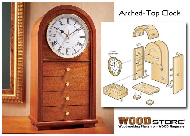 Arts And Crafts Clock Plans Free