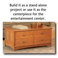 Entertainment Center Coffee Table