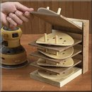 Flip-Up Sanding Disc Caddy Plan