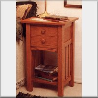 Arts & Crafts End Table/Nightstand