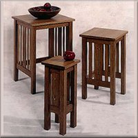 Arts & Crafts Nesting Tables