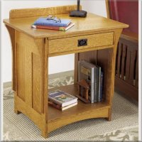 Arts & Crafts Mission Style Nightstand