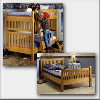 Arts & Crafts Bunk Bed