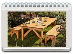 Simple & Sturdy Picnic Set
