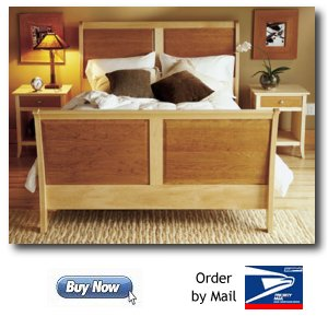 Sleigh Bed Woodworking Plans