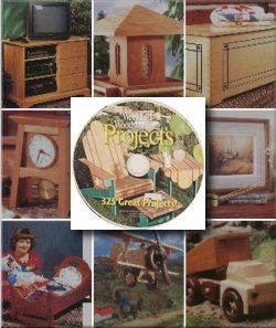 Weekend Woodworking Projects The Complete Collection on CD-ROM
