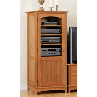 Entertainment Tower Cabinet